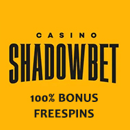 Welcome offer for Shadowbet.