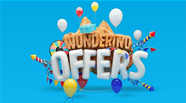 welcome bonus from wunderino